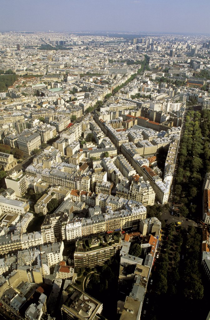 Stock Photo: 1606-64150 France, Paris, 14th arrondissement