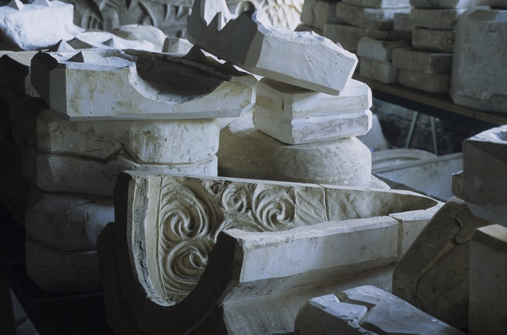 France, Basque Country, Biarritz, Cazaux ceramics workshop : Stock Photo