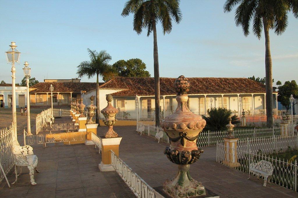 Cuba, Trinidad, Plaza Mayor : Stock Photo