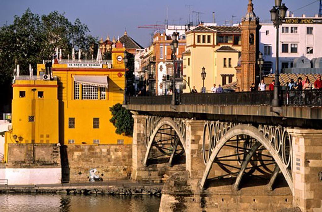 Spain, Andalusia, Sevilla, Triana district : Stock Photo