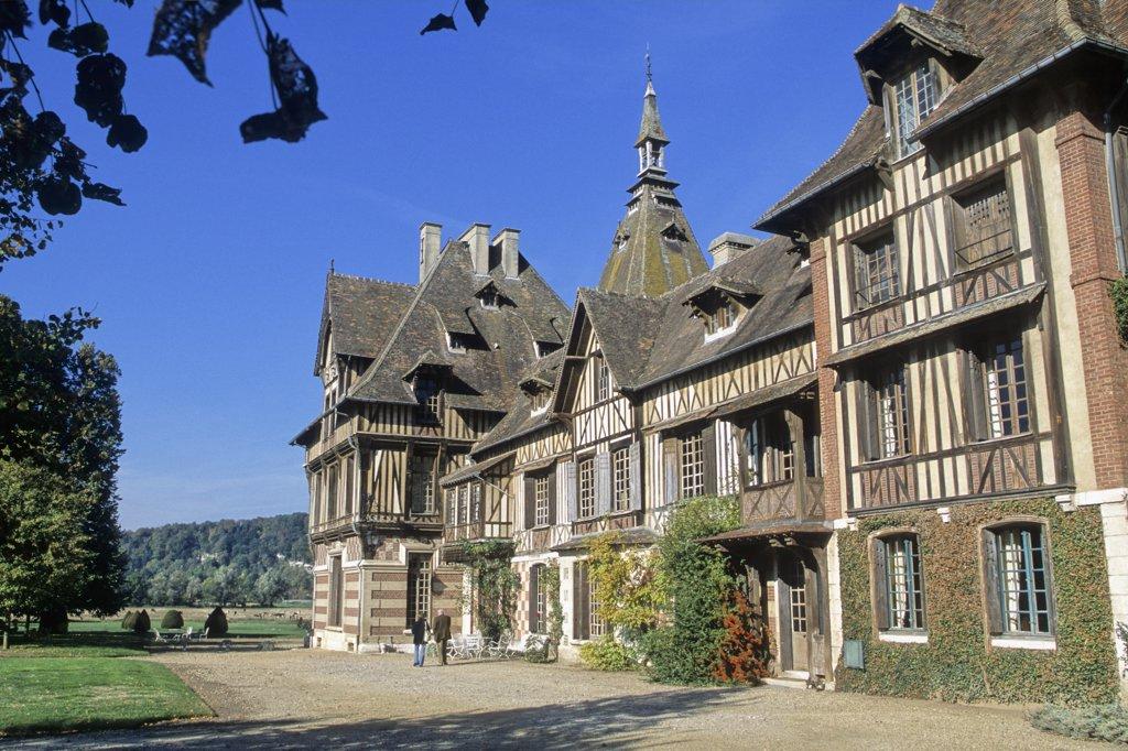 Stock Photo: 1606-66827 France, normandie, haute normandie, Seine Maritime, Saint Pierre de Manneville, Villers manor