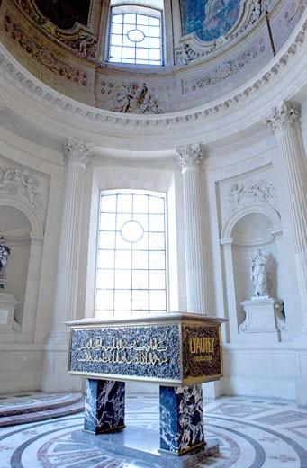 Stock Photo: 1606-70119 France, Paris, 7th arrondissement, Hôtel des Invalides, Maréchal Lyautey shrine