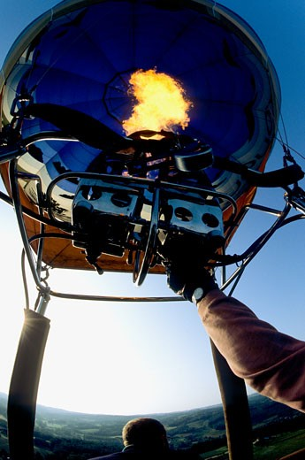 Stock Photo: 1606-70309 Hot Air Balloon burner
