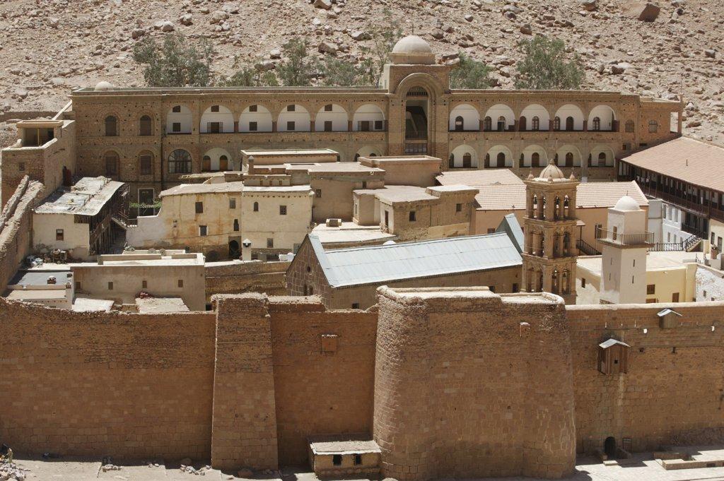 Stock Photo: 1606-72277 Egypt, Sinaï, Sainte Catherine, Santa Catherine's orthodox monastery