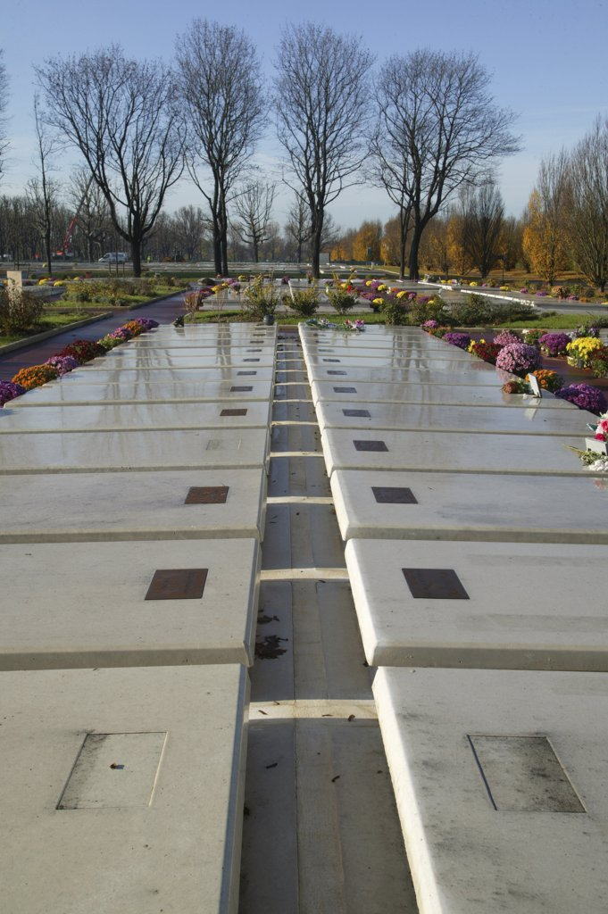 France, Paris, Deprived persons' graves : Stock Photo
