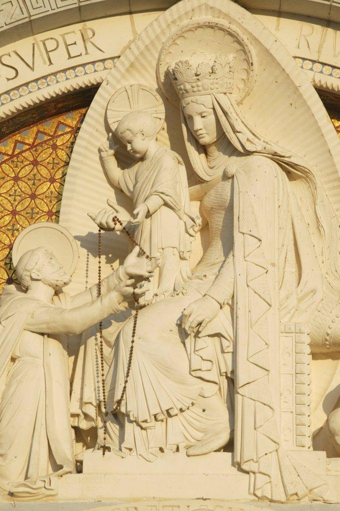 Stock Photo: 1606-73185 France, Pyrénées, Lourdes, Saint Dominique. Basilica of Our Lady of the Rosary
