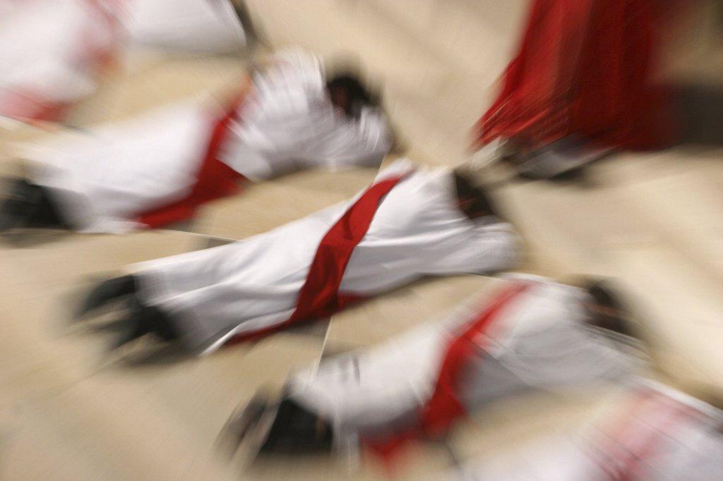 Stock Photo: 1606-73332 France, Paris, Priest ordinations at Notre Dame de Paris cathedral