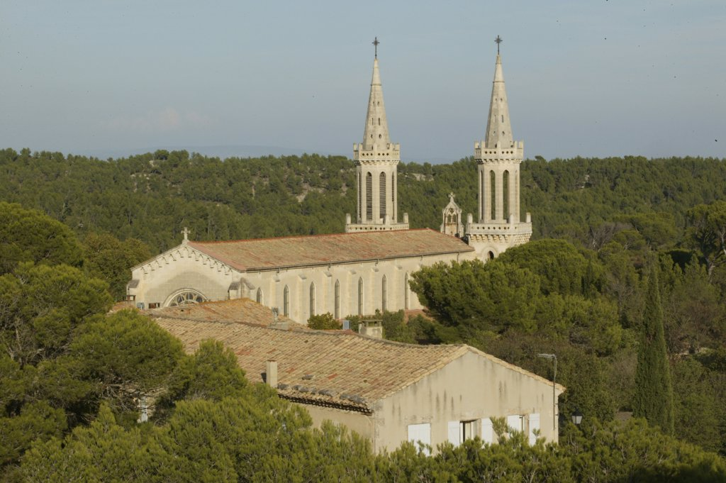 Stock Photo: 1606-73511 France, Bouches du Rhône, Frigolet, Saint-Michel de Frigolet abbey