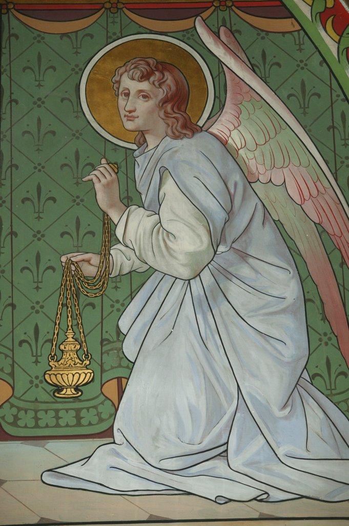 Stock Photo: 1606-73515 France, Bouches du Rhône, Frigolet, Angel