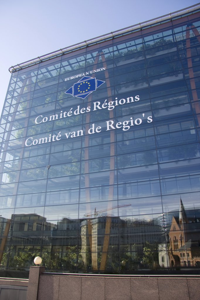 Belgium, Bruxelles, european district, Comité de Régions : Stock Photo