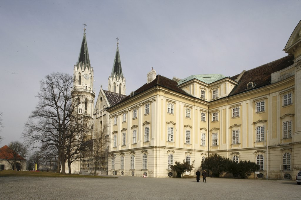 Stock Photo: 1606-77975 Autriche, Klosterneuburg, Klosterneuburg abbey