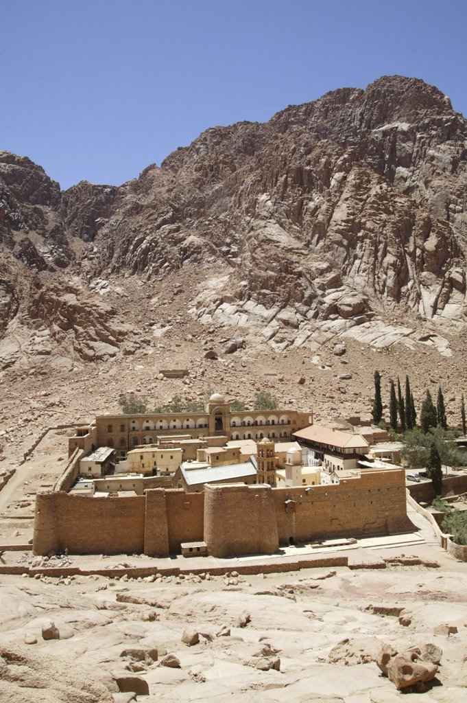 Egypt, Sinaï, Sainte Catherine, Santa  Catherine's orthodox monastery : Stock Photo