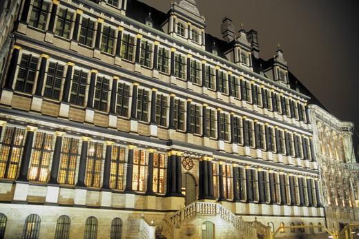Belgium, Ghent, city hall : Stock Photo