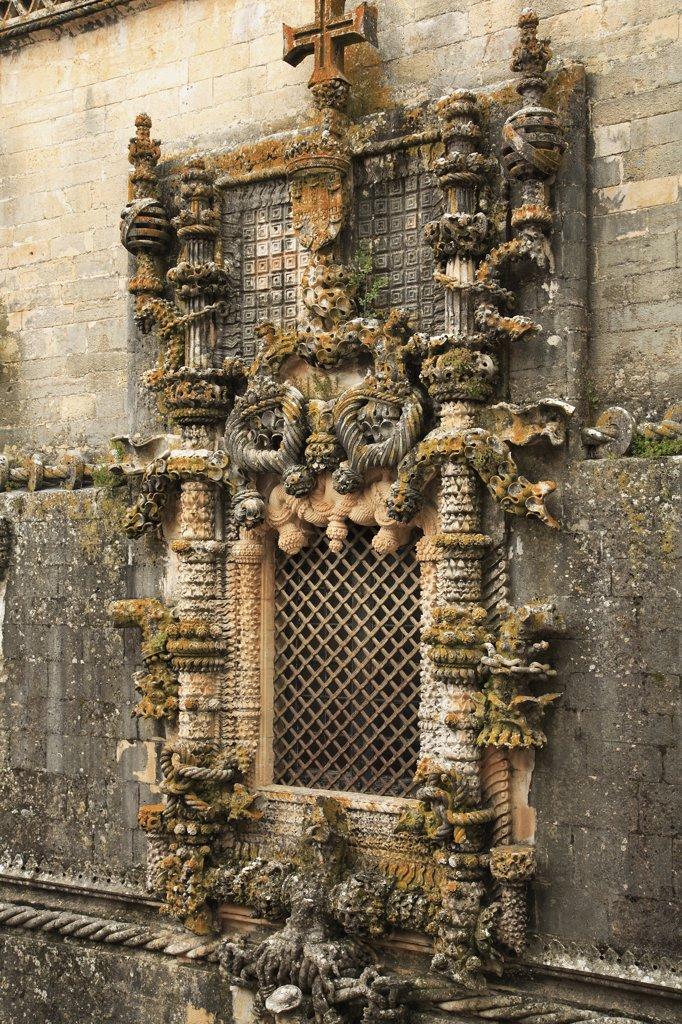Stock Photo: 1606-82161 Portugal, Ribatejo, Tomar, Convento de Cristo convent, Knights Templar's headquarters