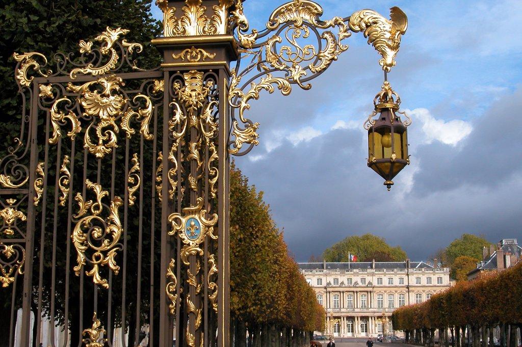 France, Lorraine, Meurthe et Moselle, Nancy, Stanislas square : Stock Photo
