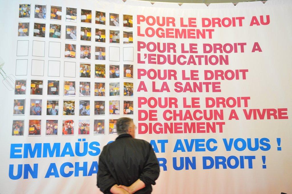 Stock Photo: 1606-88793 France, Paris, Emmaus annual fair