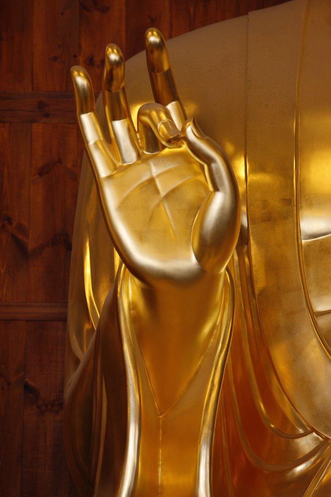 Stock Photo: 1606-89569 Core du Sud, Soul, Bhaisajya Buddha (Medicine Buddha). Jogysea temple.