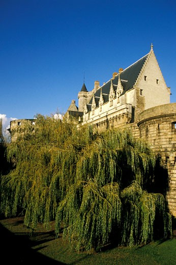 Stock Photo: 1606-9294 France, Pays de la Loire, Loire-Atlantique, Nantes, Castle of the Dukes of Brittany
