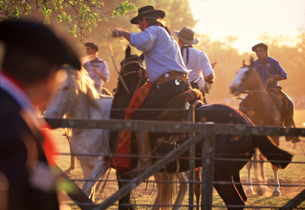 Gaucho festival, Argentina : Stock Photo