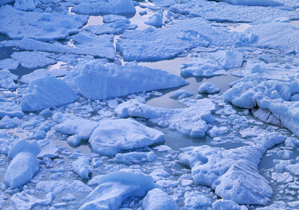 Perito Morento Glacier, Patagonia, Argentina : Stock Photo