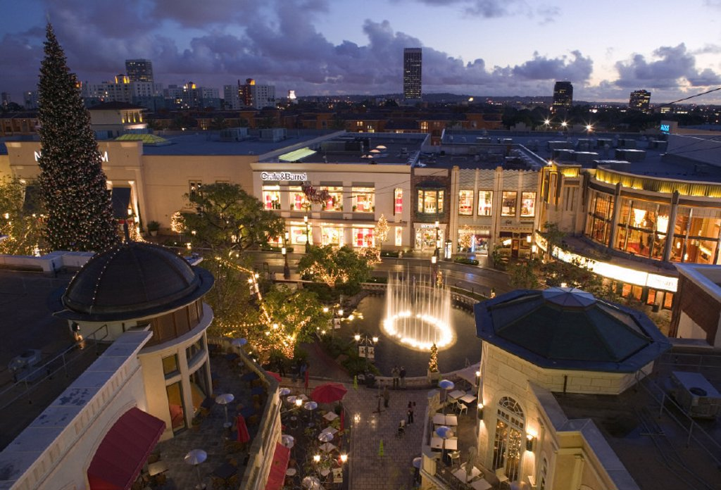 The Grove Mall, West Hollywood, Los Angeles, California, USA : Stock Photo