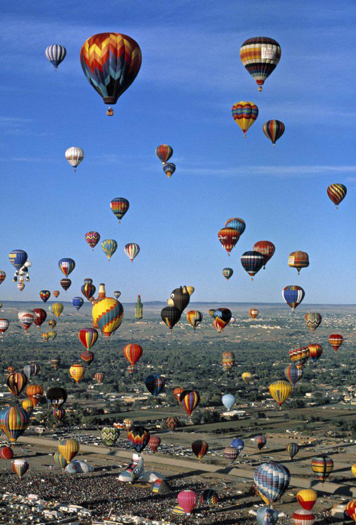 Albuquerque balloon festival, New Mexico, USA : Stock Photo