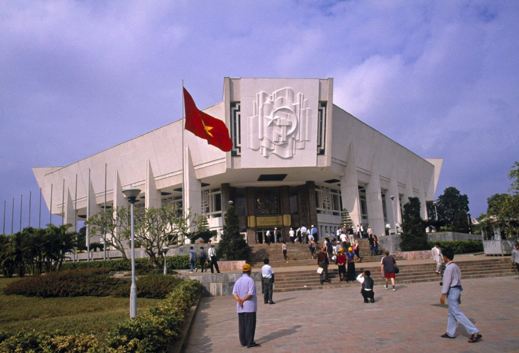 Stock Photo: 1609-11859 Ho Chi Minh Mausoleum Museum, Ha Noi, Vietnam