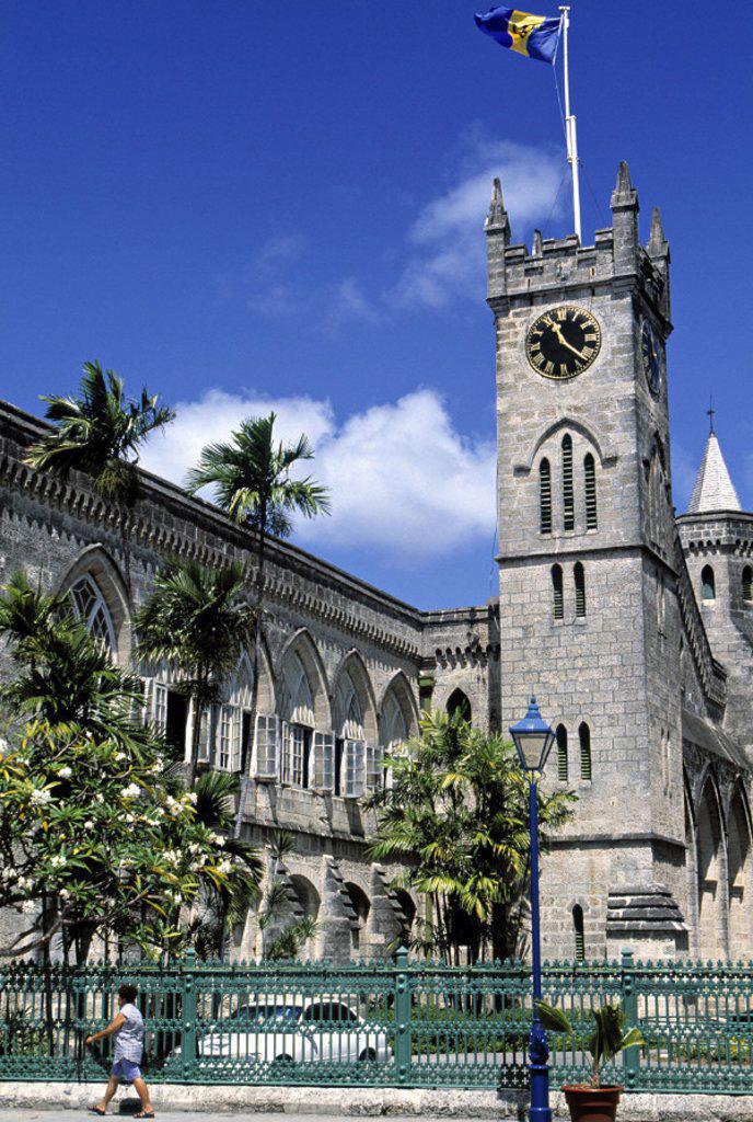 Stock Photo: 1609-1284 Parliament, Bridgetown, Barbados, Caribbean