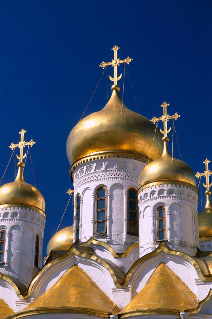 Stock Photo: 1609-13951 Kremlin / Annunciation Cathedral, Moscow, Russia