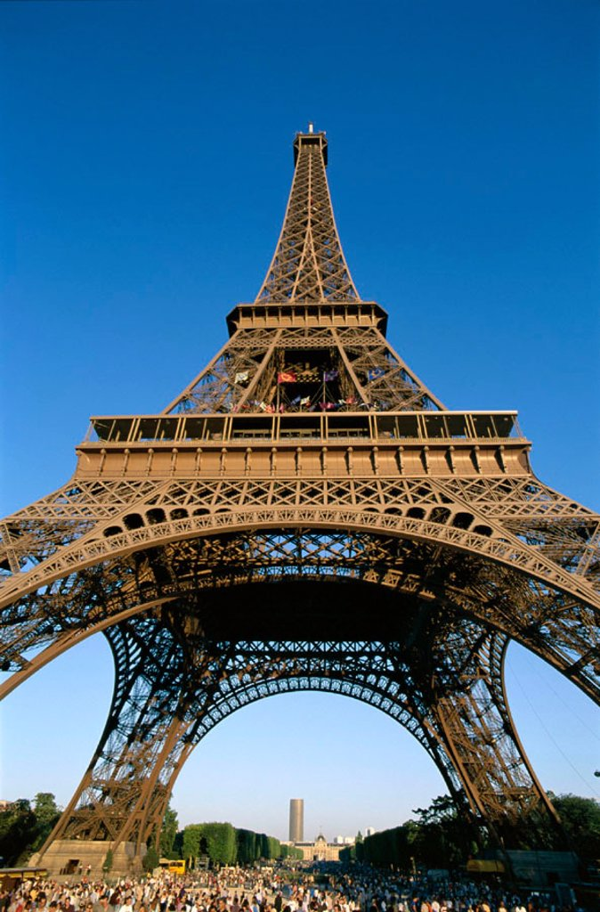 Stock Photo: 1609-14532 Eiffel Tower (Tour Eiffel), Paris, France
