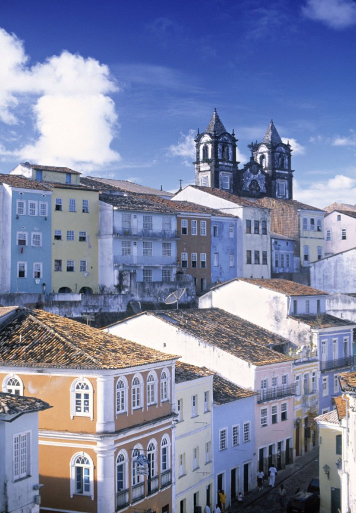 Salvador (Colonial City), Brazil : Stock Photo