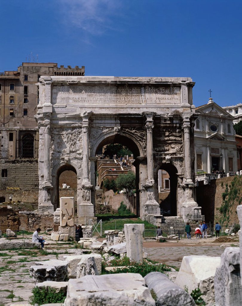 Stock Photo: 1609-14978 Forum / Roman Ruins, Rome, Italy
