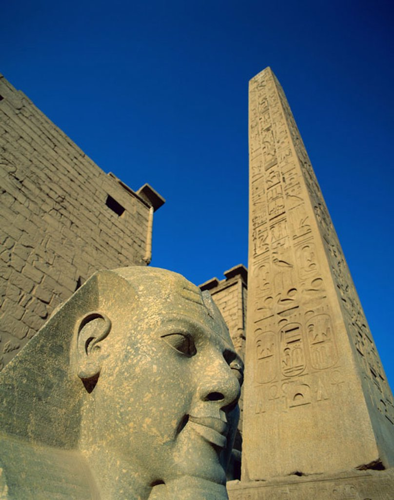 Stock Photo: 1609-15647 Luxor Temple, Luxor, Egypt