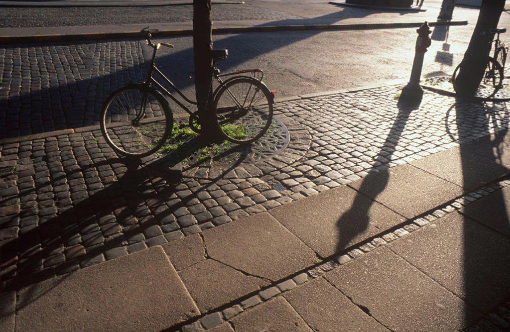 Stock Photo: 1609-17815 Bicycle, Copenhagen, Denmark