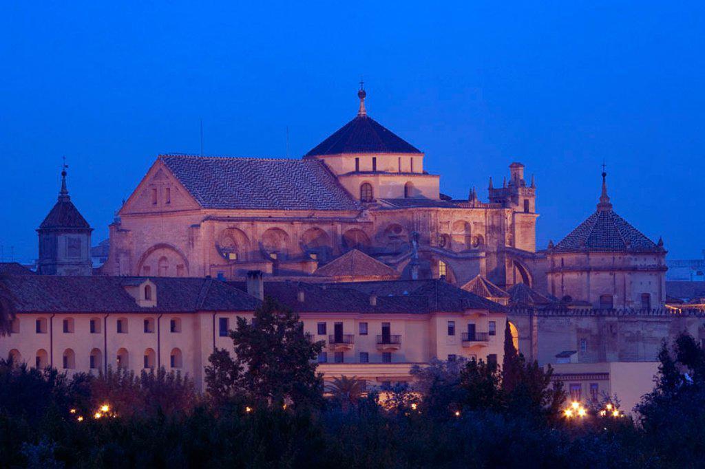 Mezquita, Cordoba, Cordoba Province, Andalucia, Spain : Stock Photo