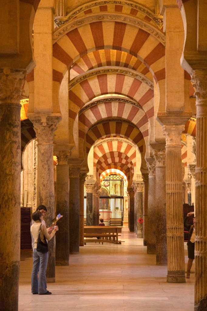 Stock Photo: 1609-18063 Mezquita, Cordoba, Cordoba Province, Andalucia, Spain