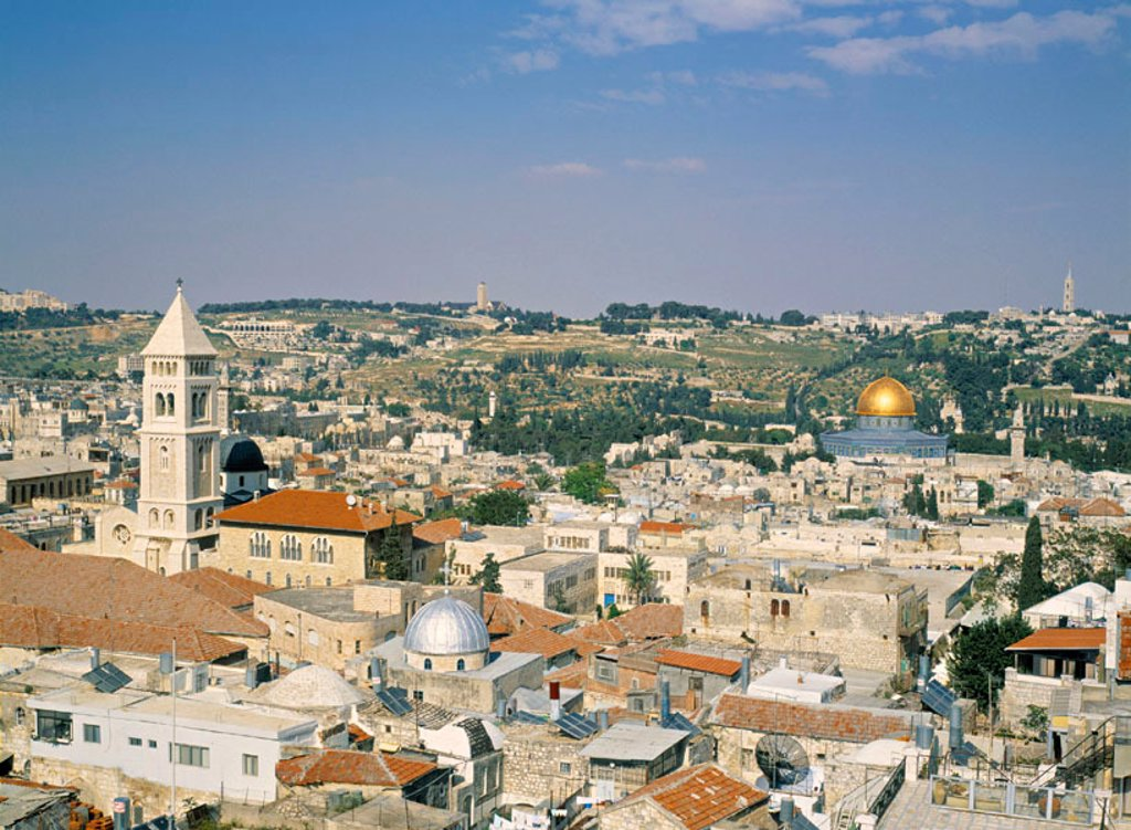 Old City of Jerusalem, Israel : Stock Photo