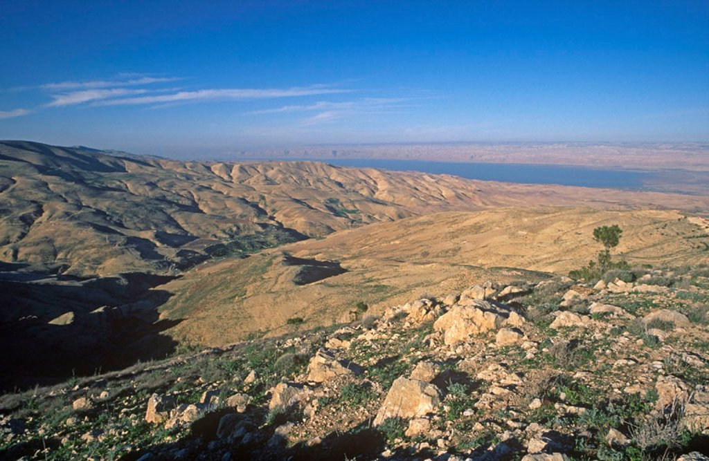 Mt. Nebo, Jordan : Stock Photo