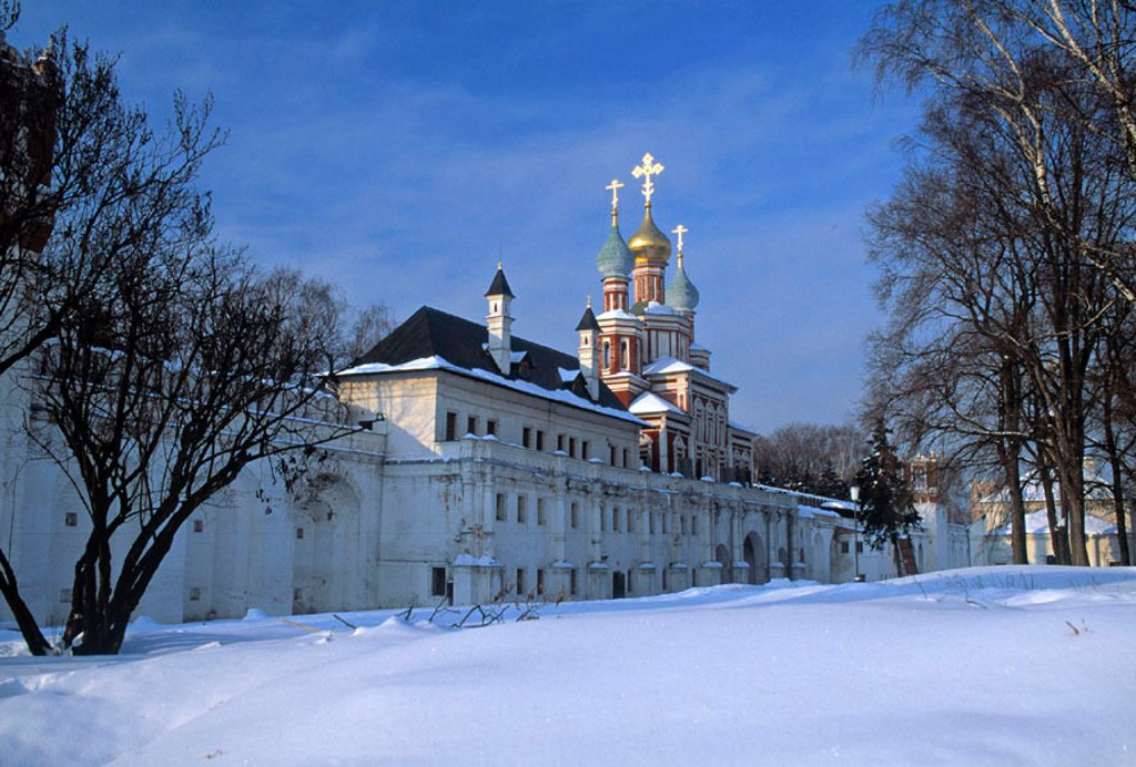 Novodevichy monastery, Moscow, Russia : Stock Photo