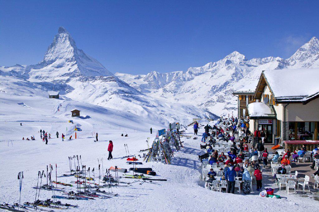Riffelberg, Zermatt, Valais, Switzerland : Stock Photo