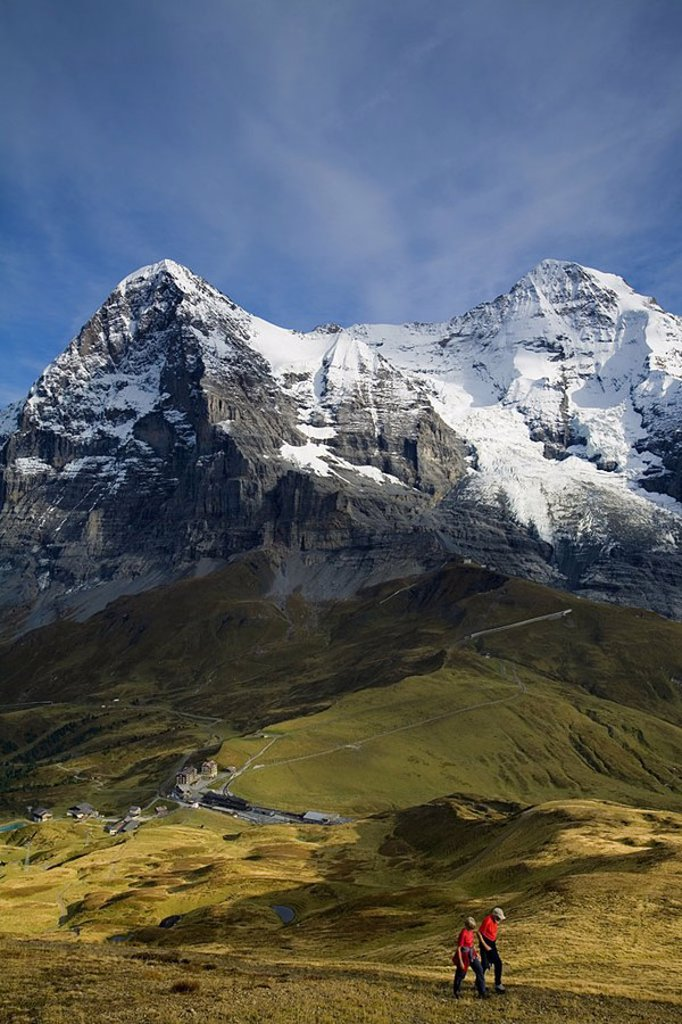 Stock Photo: 1609-20718 Kleine Scheidegg , Berner Oberland, Switzerland