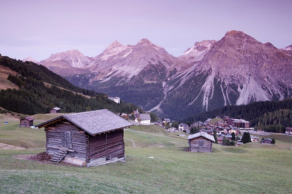 Stock Photo: 1609-20781 Arosa, Graubunden, Switzerland