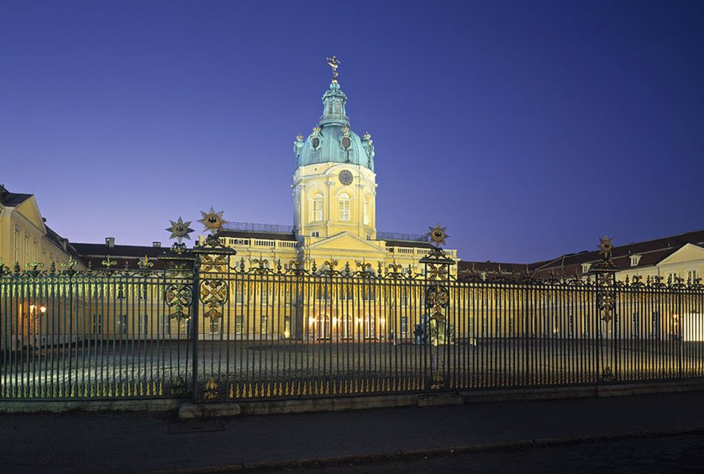 Stock Photo: 1609-20849 Charlottenburg Castle, Berlin, Germany