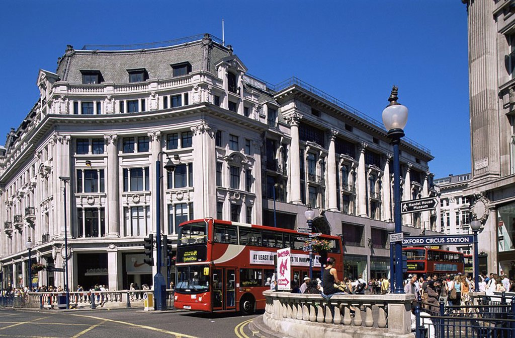 England,London,Oxford Circus : Stock Photo