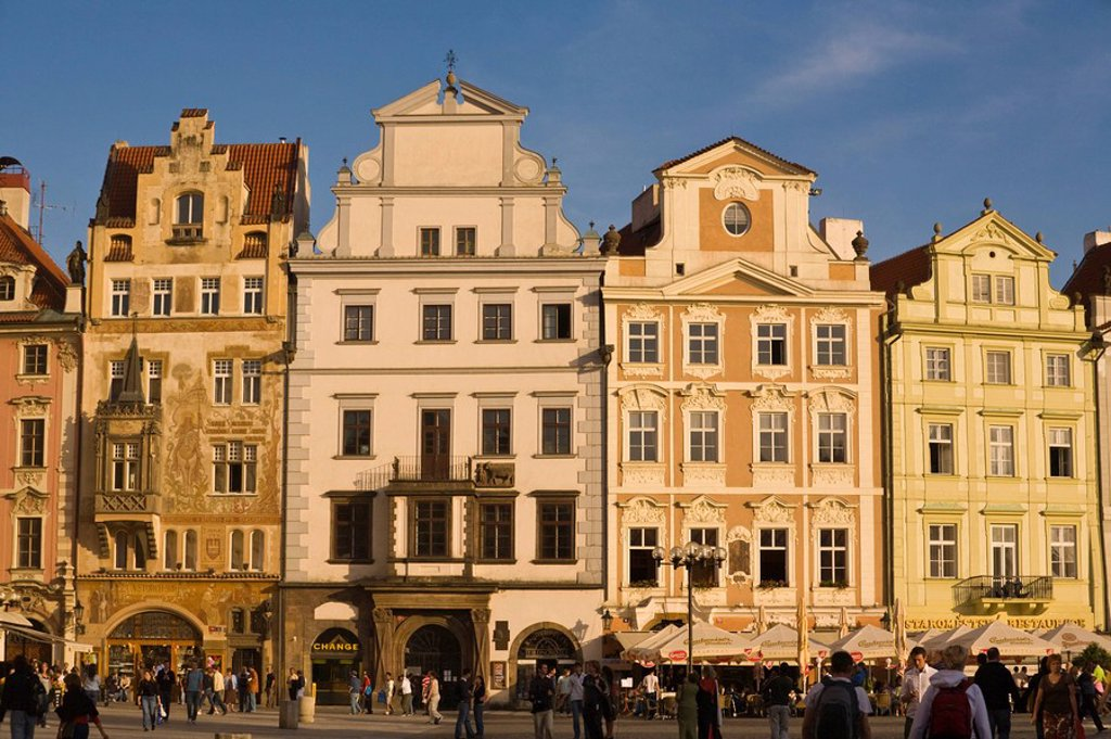 Stock Photo: 1609-22758 Old town Square, Prague, Czech Republic