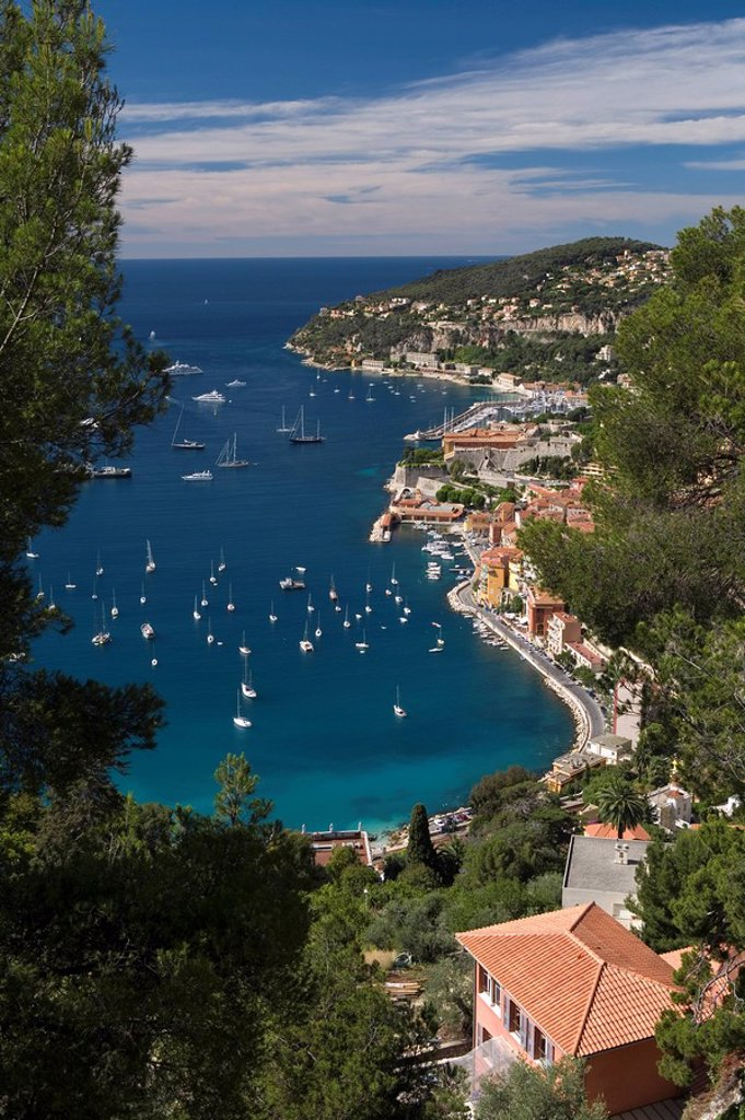 Viillefranche-sur-Mer, French Riviera, Cote d´Azur, France : Stock Photo
