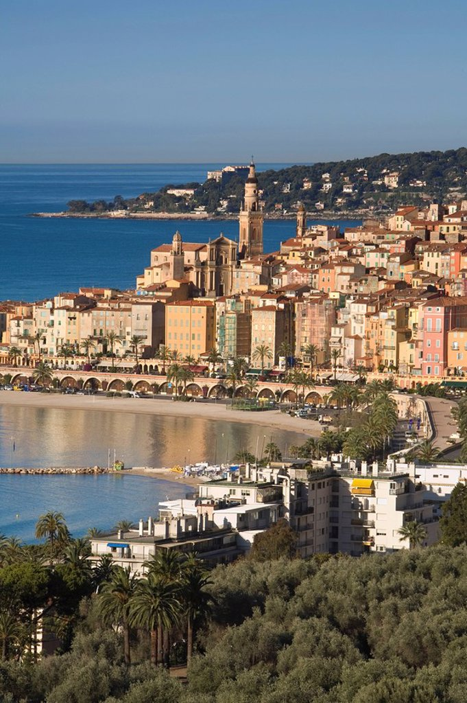 Stock Photo: 1609-22969 Menton, French Riviera, Cote d´Azur, France