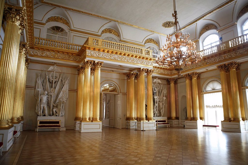 State Hermitage Museum, Winter Palace, St  Petersburg, Russia : Stock Photo