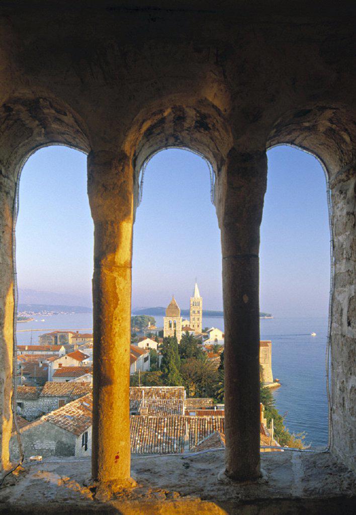 Stock Photo: 1609-2418 Rab, Adriatic Coast, Croatia