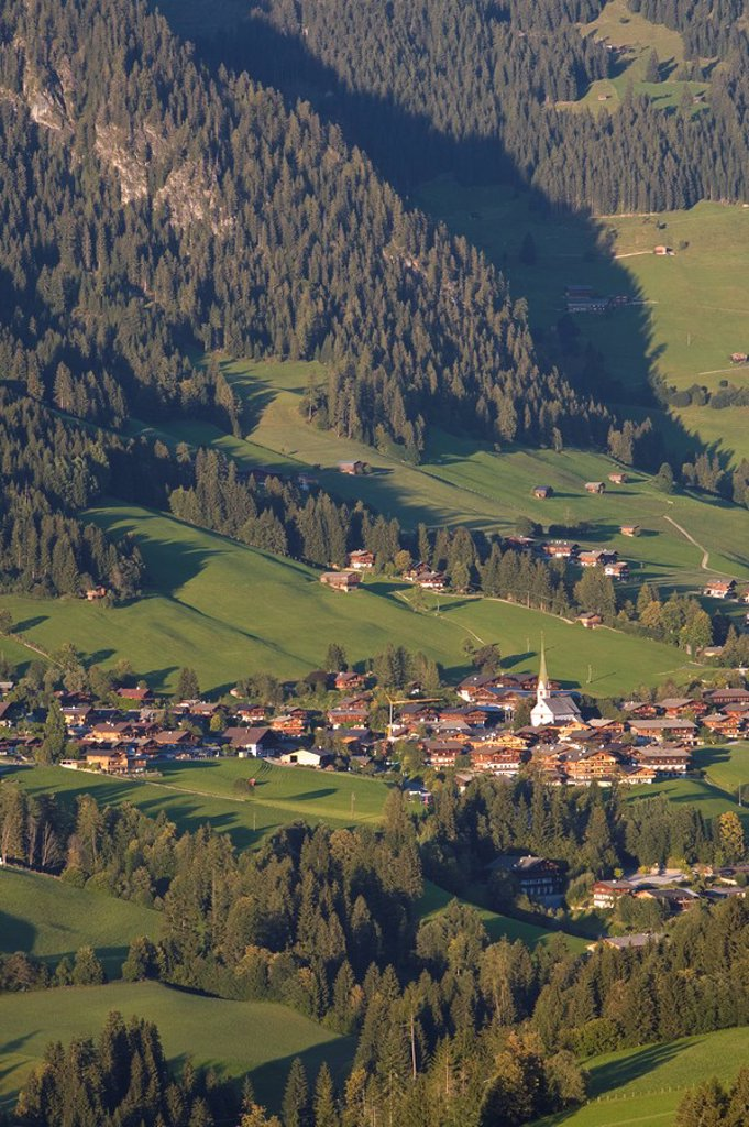 Stock Photo: 1609-24210 Alpbach, Tirol, Austria